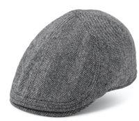 Isaac Duckbill Flatcap Black Light Grey SH1026 - State of WOW