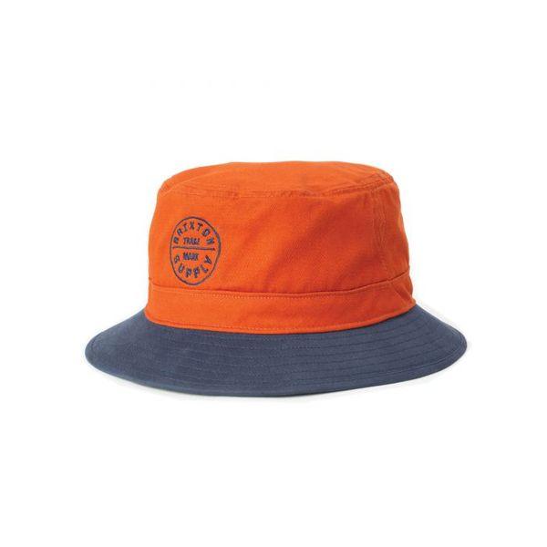 Oath Bucket Hat Autumn/Washed Navy - Brixton