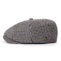 Brood Snap Cap Blue/Khaki - Brixton