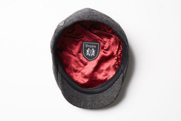 Hooligan Snap Cap Grey/Black - Brixton