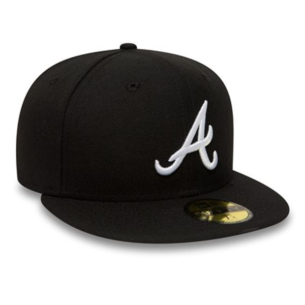Atlanta Braves Essential Black MLB 59Fifty - New Era