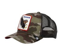 Freedom Eagle Camo/Black Trucker Animal Farm - Goorin Bros