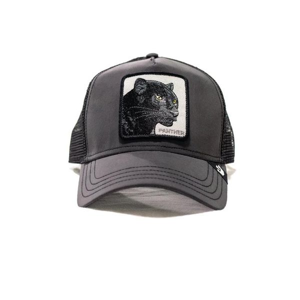Panther Shine Bright Trucker Black - Goorin Bros