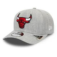 9fifty Stretch Snap Heather Grey Chicago Bulls från New Era