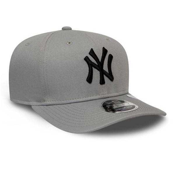 New York Yankees League Essential Grey Stretch Snap 9Fifty - New Era