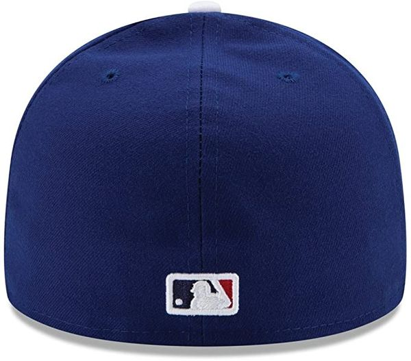 Los Angeles Dodgers Authentic On Field Game Blue 59fifty - New Era