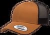 Flexfit Trucker Caramel/Black 6606 - Yupoong - Fri frakt