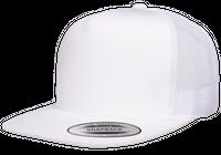 Flexfit/Yupoong Trucker white 6006 i lager för snabb leverans