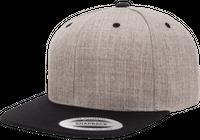 Snapback Keps 2-Tone Grey/Black 6089 - Fri frakt