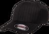 Flexfit Keps Pinstripe Black 6195P - Flexfit/Yupoong