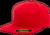 Flexfit 210® Premium Fitted Red 6210 i flera storlekar