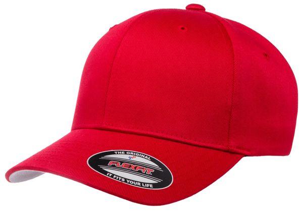 Original Baseball Premium Red 6277 - Flexfit/Yupoong