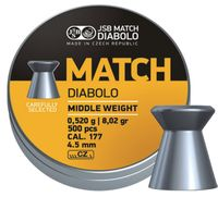 JSB MATCH DIABOLO, GEVÄR 4,52MM - 0,520G