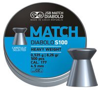 JSB MATCH DIABOLO, S100 4,52MM - 0,535G