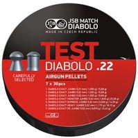 JSB EXACT TEST 7 X 30ST .22