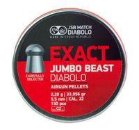 JSB EXACT JUMBO BEAST, 5,5MM - 2,200G