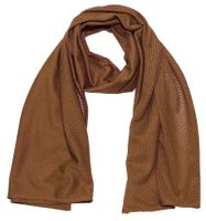 Sniper scarf, coyote tan, size: 160 x 70 cm
