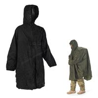 Snugpack Enhanced Patrol Poncho Black
