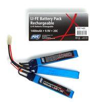 9,9V Battery, 1400 mAh, LI-FE, sticks