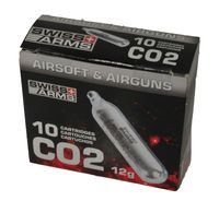 Co2 10st SWISS ARMS 12gr