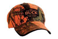 Buck LOGO CAP, CAMO & SUEDE BROWN