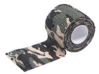 Camo tape, self-adhesive, 5 cm x 4,5 m, woodland