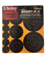 DAISY TARGETS SHOOT NC SELF ADHESIVE