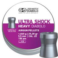 JSB HEAVY ULTRA SHOCK, 5,5MM - 1,645G