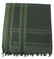 Shehmagh scarf, Grön/Svart