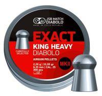 JSB EXACT KING HEAVY MKII, 6,35MM - 2,200G