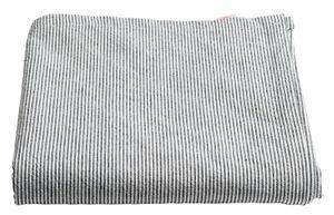 Tablecloth Multistripes Caviar 250cm