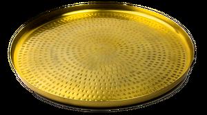 Brass Round Tray, 45cm