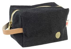 Small Cube Toiletry Bag Caviar