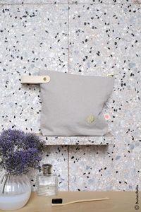 Small Toiletry Bag Fleur De Sel