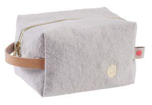Small Cube Toiletry Bag Fleur De Sel