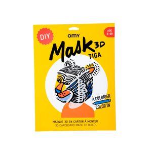 3D Mask Tiga | Sufraco House of Fine Brands