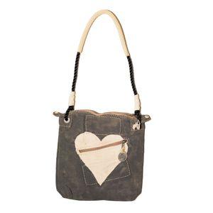Double Zip Black, Heart   Sufraco House of Fine Brands