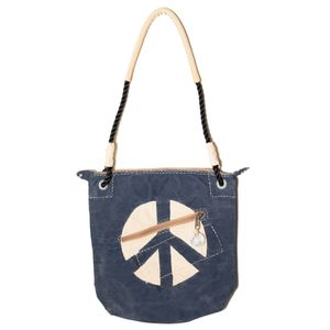 Double Zip Blue, Peace Logo   Sufraco House of Fine Brands