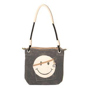 Double Zip Black, Smiley Logo   Sufraco House of Fine Brands