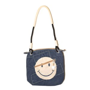Double Zip Classic, Blue with Smiley   Sufraco House of Fine Brands