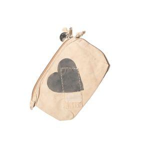 Big Clutch Vintage, Heart Battleship Grey   Sufraco House of Fine Brands
