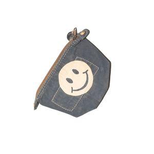 Big Clutch Battleship Grey, Smiley Logo   Sufraco House of Fine Brands