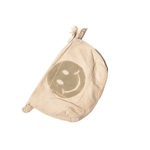 Big Clutch Vintage, Smiley Logo Oasis Sand   Sufraco House of Fine Brands