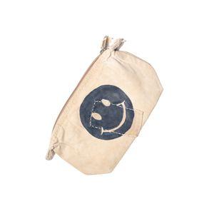 Big Clutch Vintage, Smiley Logo Blue   Sufraco House of Fine Brands