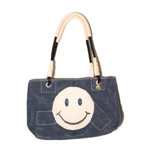 Dora Blue, Smiley Logo   Sufraco House of Fine Brands